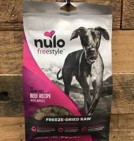 Nulo Nulo FreeStyle 5oz Grain Free Dog Freeze Dried Beef
