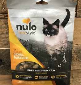 Nulo Nulo FreeStyle 3.5oz Grain Free Cat Freeze Dried Chicken & Salmon