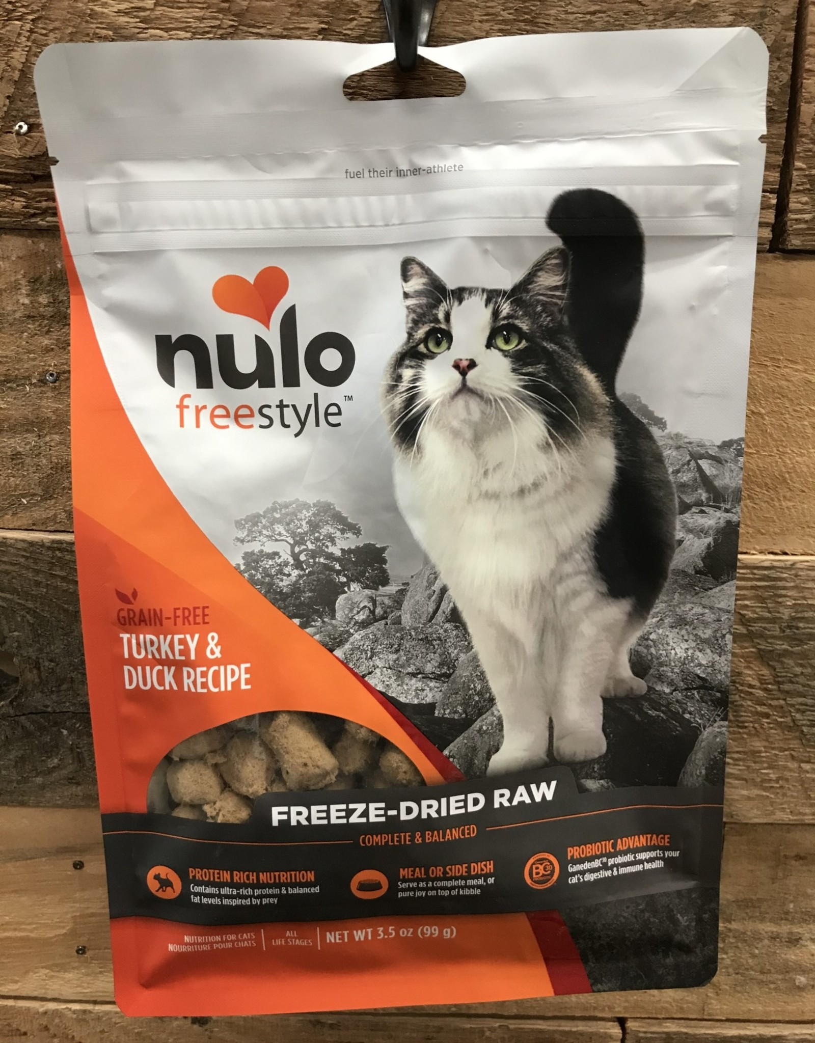 Nulo Nulo FreeStyle 3.5# Grain Free Cat Freeze Dried Turkey & Duck
