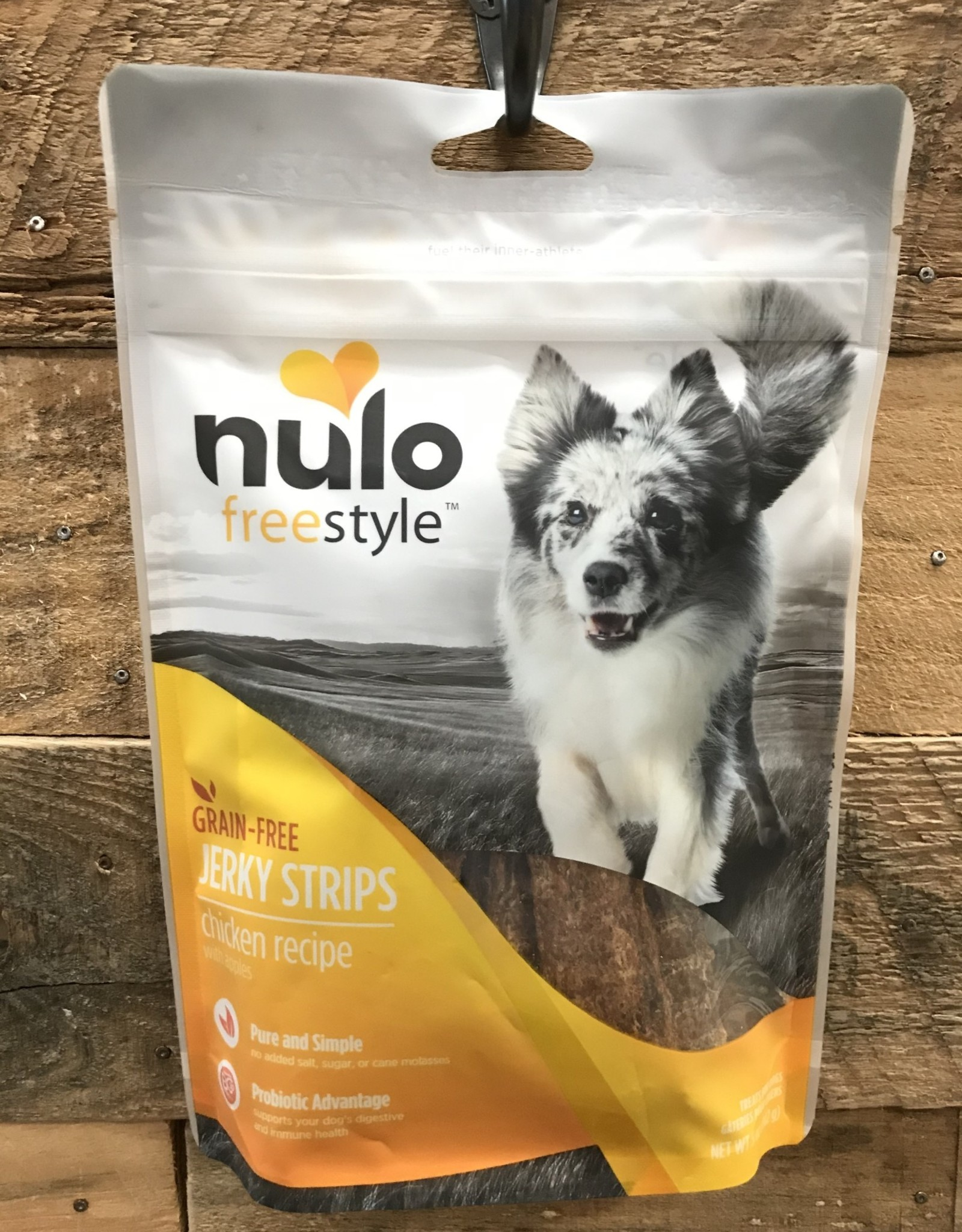 Nulo Nulo FreeStyle 5oz Grain Free Dog Jerky Treat Chicken & Apple