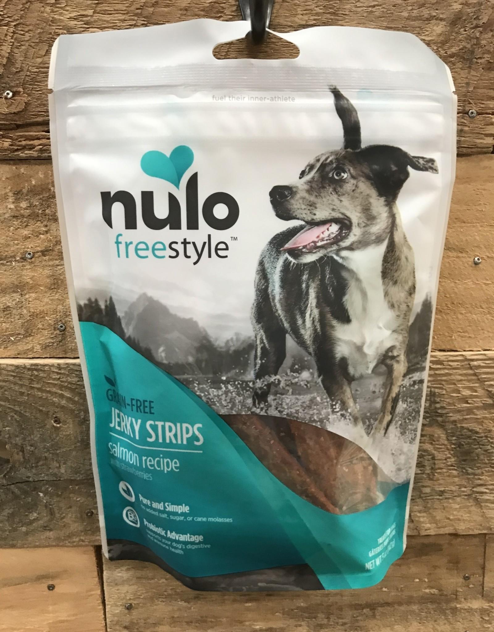 Nulo Nulo FreeStyle Grain Free Dog Jerky Treat Salmon & Strawberry