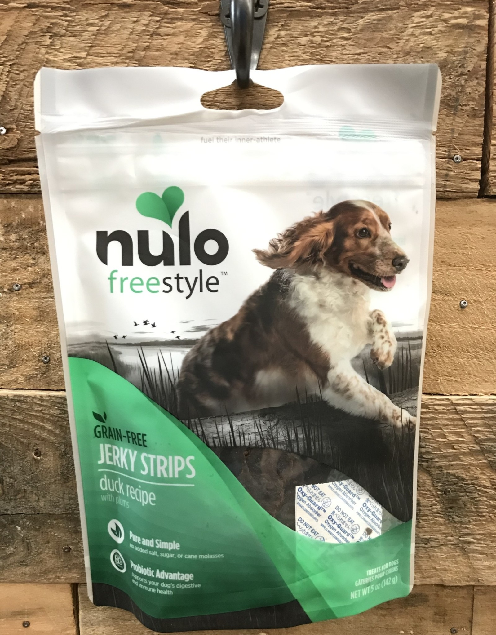 Nulo Nulo FreeStyle 5oz Grain Free Dog Jerky Treat Duck & Plum