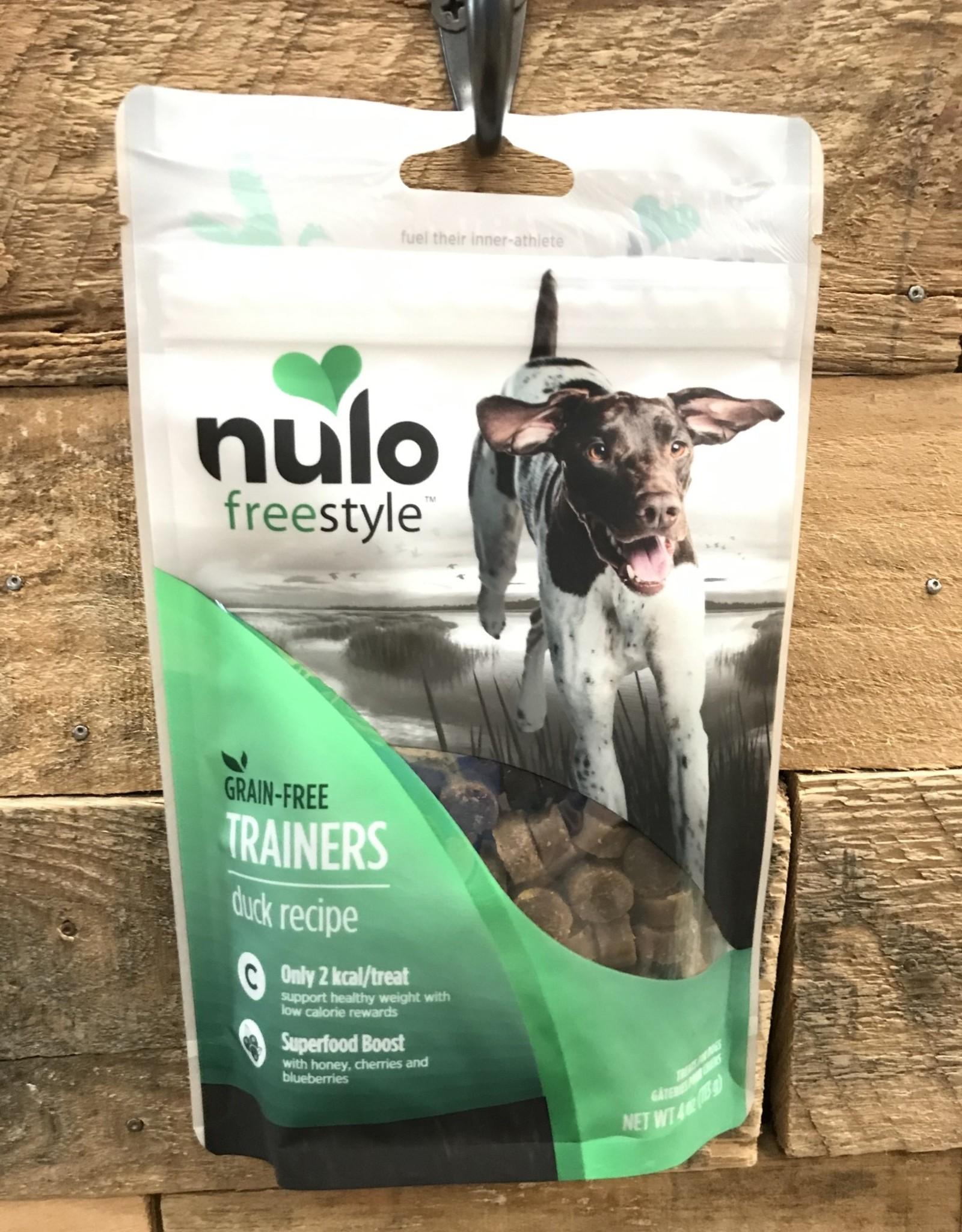 Nulo Nulo FreeStyle 4oz Grain Free Dog Training Treat Duck