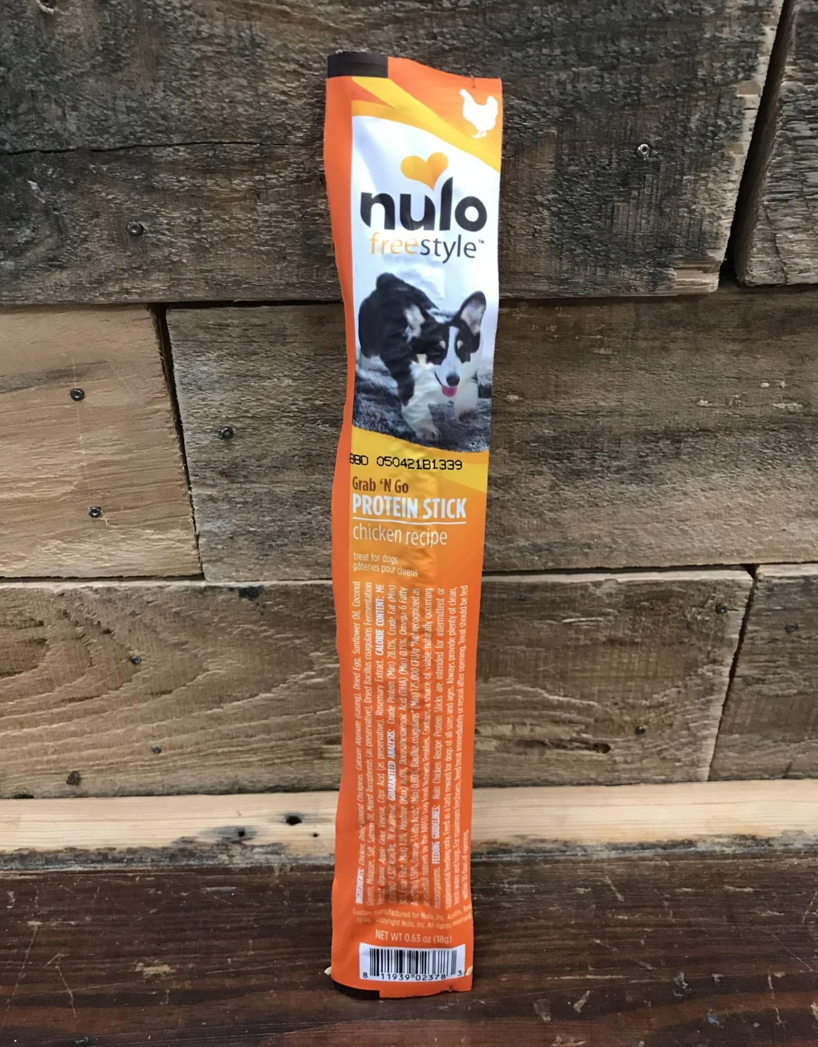 Nulo Nulo FreeStyle .63oz Grain Free Dog Protein Stick Chicken treat