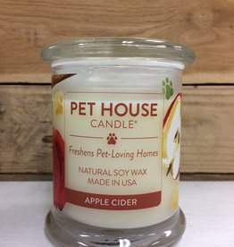 One Fur All One Fur All Candle Glass Jar APPLE CIDER 8.5oz