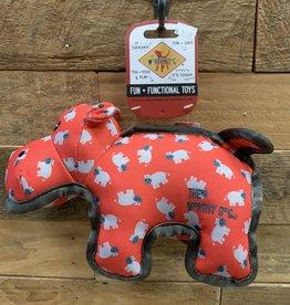 Worthy Dog Toy Worthy Dog Toy Hippo Large
