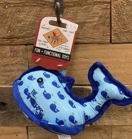 Worthy Dog Toy Worthy Dog Toy Whale Small