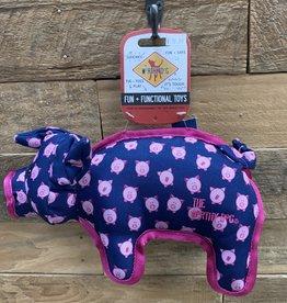 Worthy Dog Toy Worthy Dog Toy Pig Large