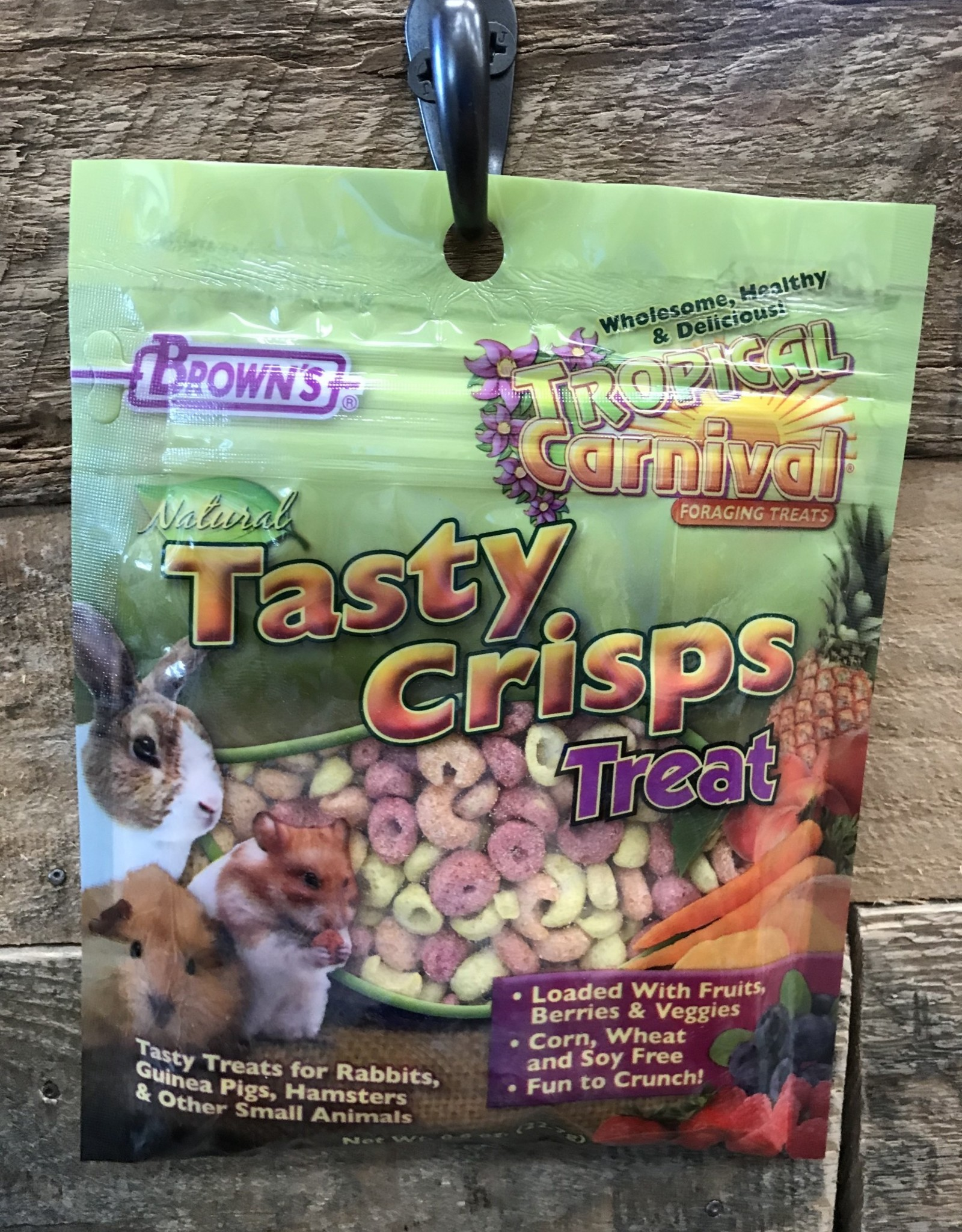 FM Browns Natural Baked Crisps - Small Animal .8oz
