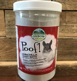 OXBOW ANIMAL HEALTH Oxbow Care 2.5LB POOF - BLUE CLOUD CHINCHILLA DUST
