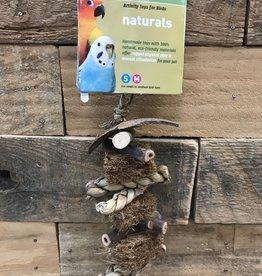 Prevue NATURALS COCO ROPE MINI BIRD TOY