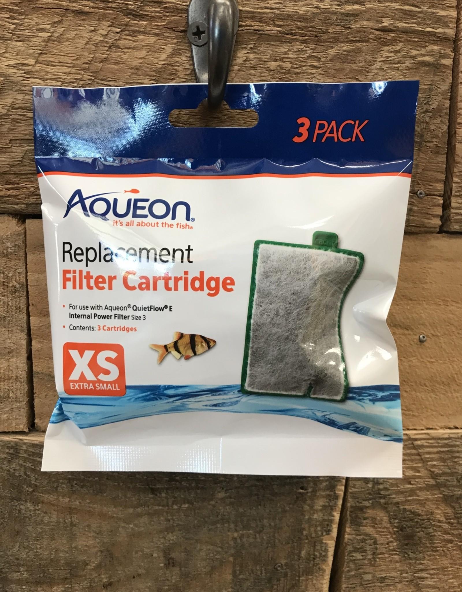 CENTRAL - AQUEON Aqueon Cartridge XS 3 pk.