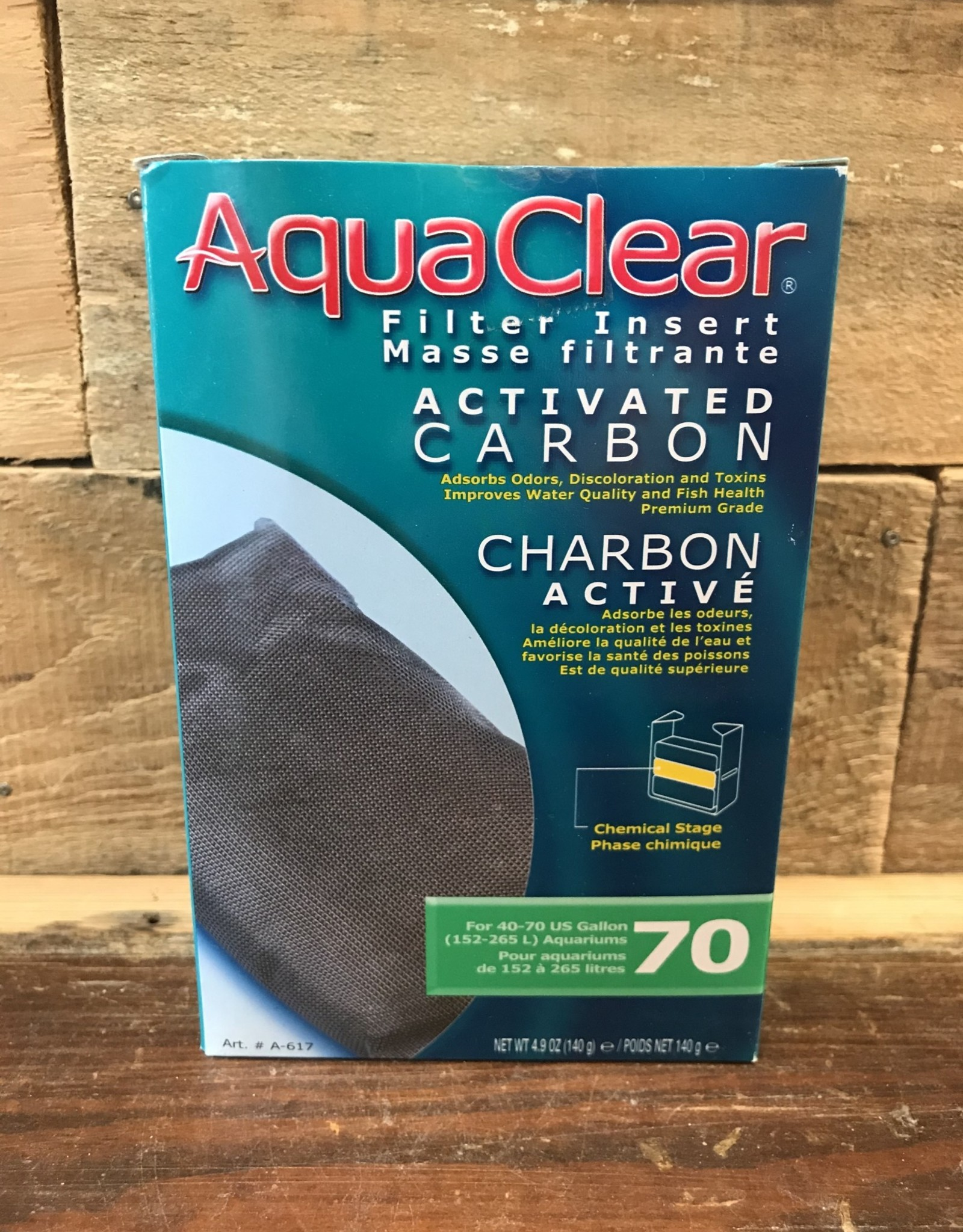 Hagen AquaClear 70 Activated Carbon, 4 1/5 oz