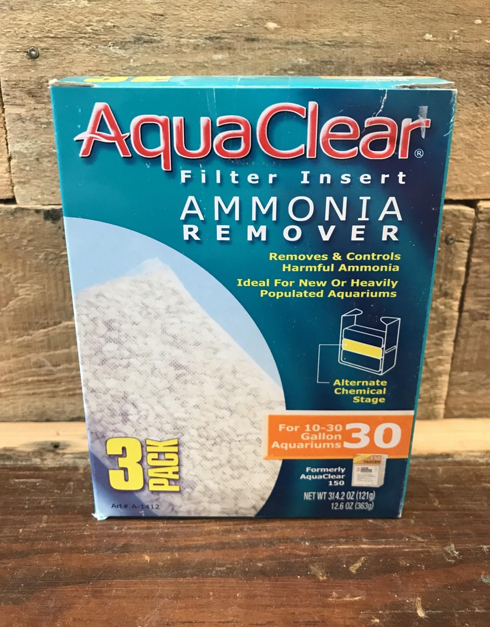 Hagen AquaClear 30 Ammonia Remover (3/pack)