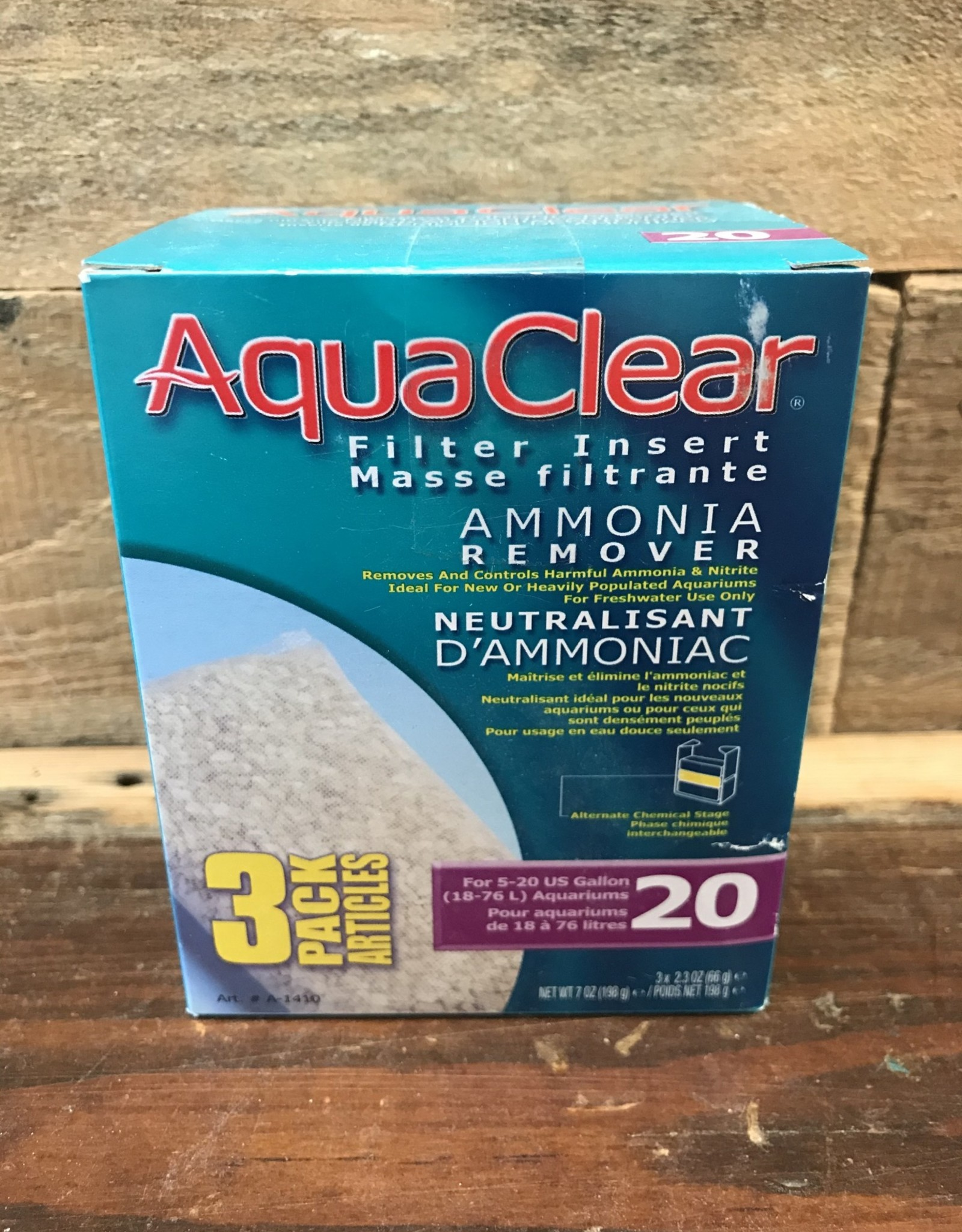Hagen AquaClear 20 Ammonia Remover (3/pack)