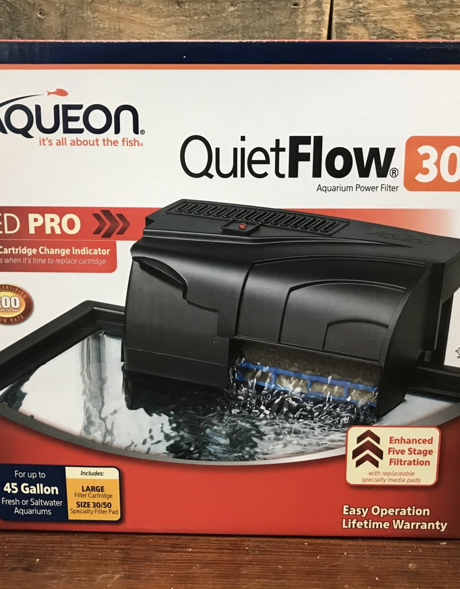Aqueon Aqueon quiet flow filter 30 led pro