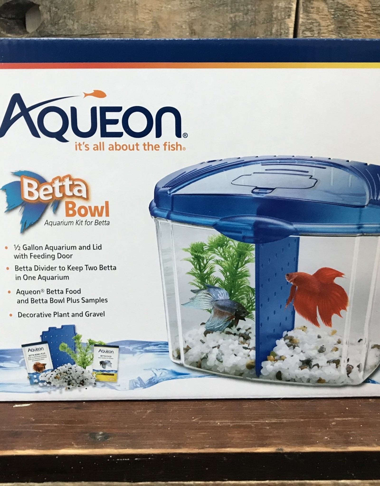 Aqueon Aqueon .5 BETTA BOWL STARTER KIT