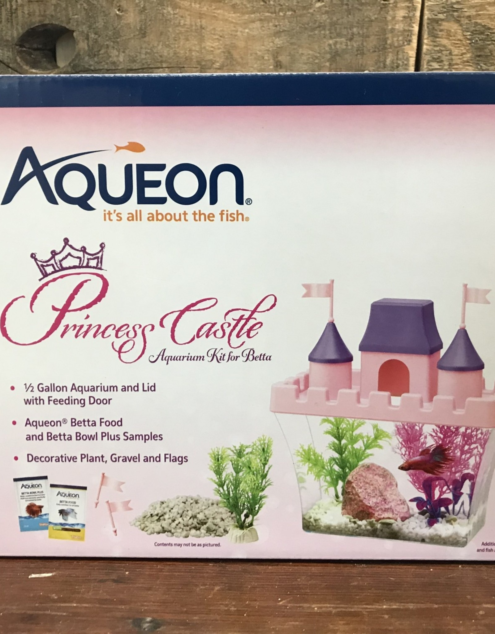 Aqueon kit princess castle .5 gal
