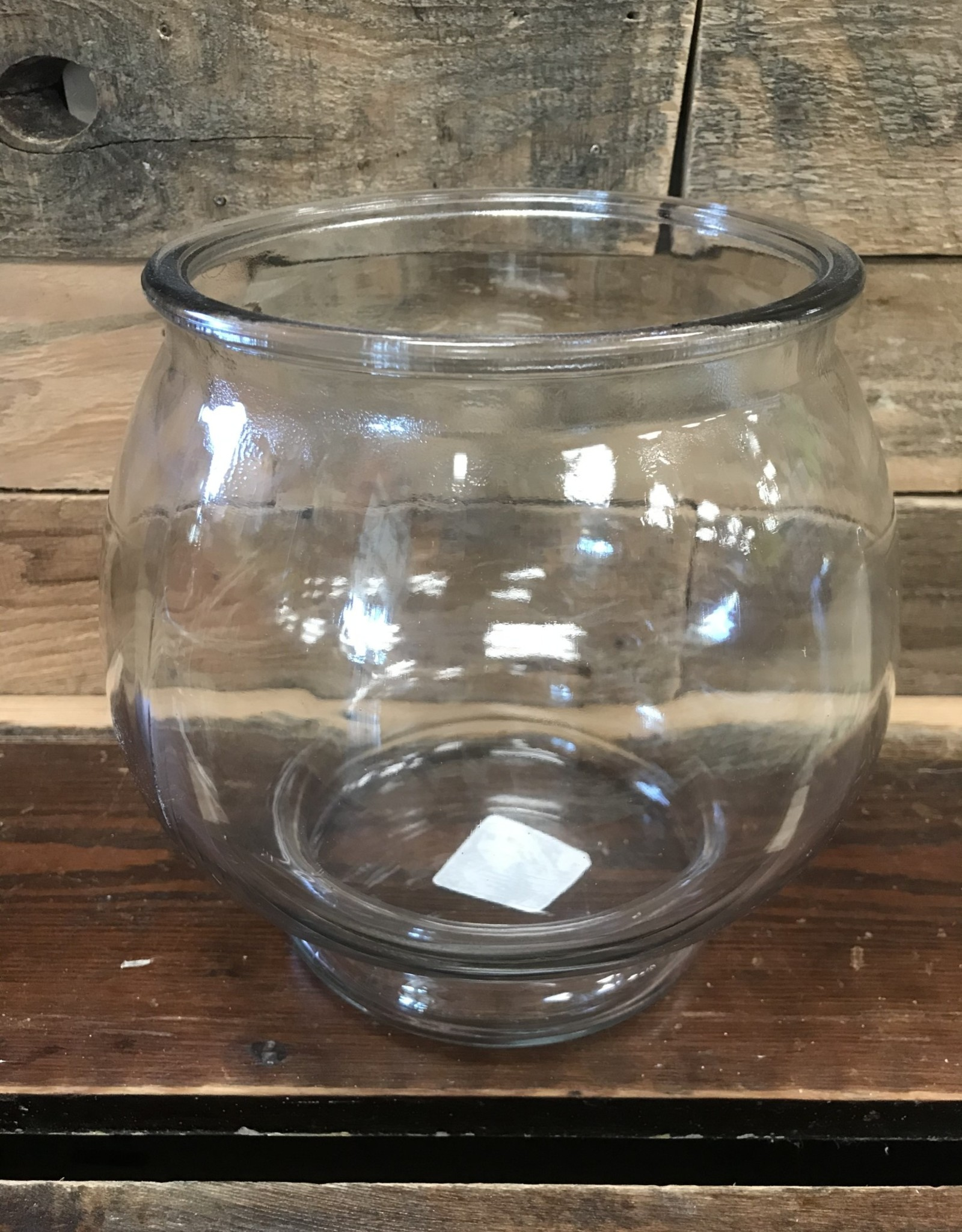 Anchor Hocking Anchor Hocking Glass Footed Bowl 1 Gallon