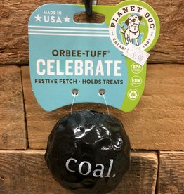 Outward Hound - Planet dog Xms Planet dog Orbee-Tuff Coal Made in USA
