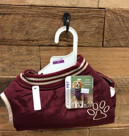 Fashion Pet Reversible Varsity Jacket Medium