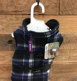 Fashion Pet Plaid Reversible Coat Small