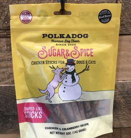 Polkadog XMS Polkadog Sugar and Spice Chicken Sticks 5oz.