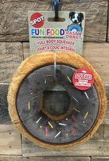 "Ethical Dog Toy Tasty Donuts 7.5"" Assorted"