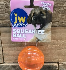 JW JW Puppy Squeak-ee Ball Small Assorted