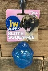 JW JW Puppy Sloth Squeak-ee Small