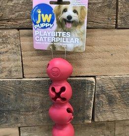 JW JW Puppy Playbites Caterpillar Small Assorted
