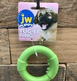 JW JW Puppy Tug-ee Ring Small Assorted