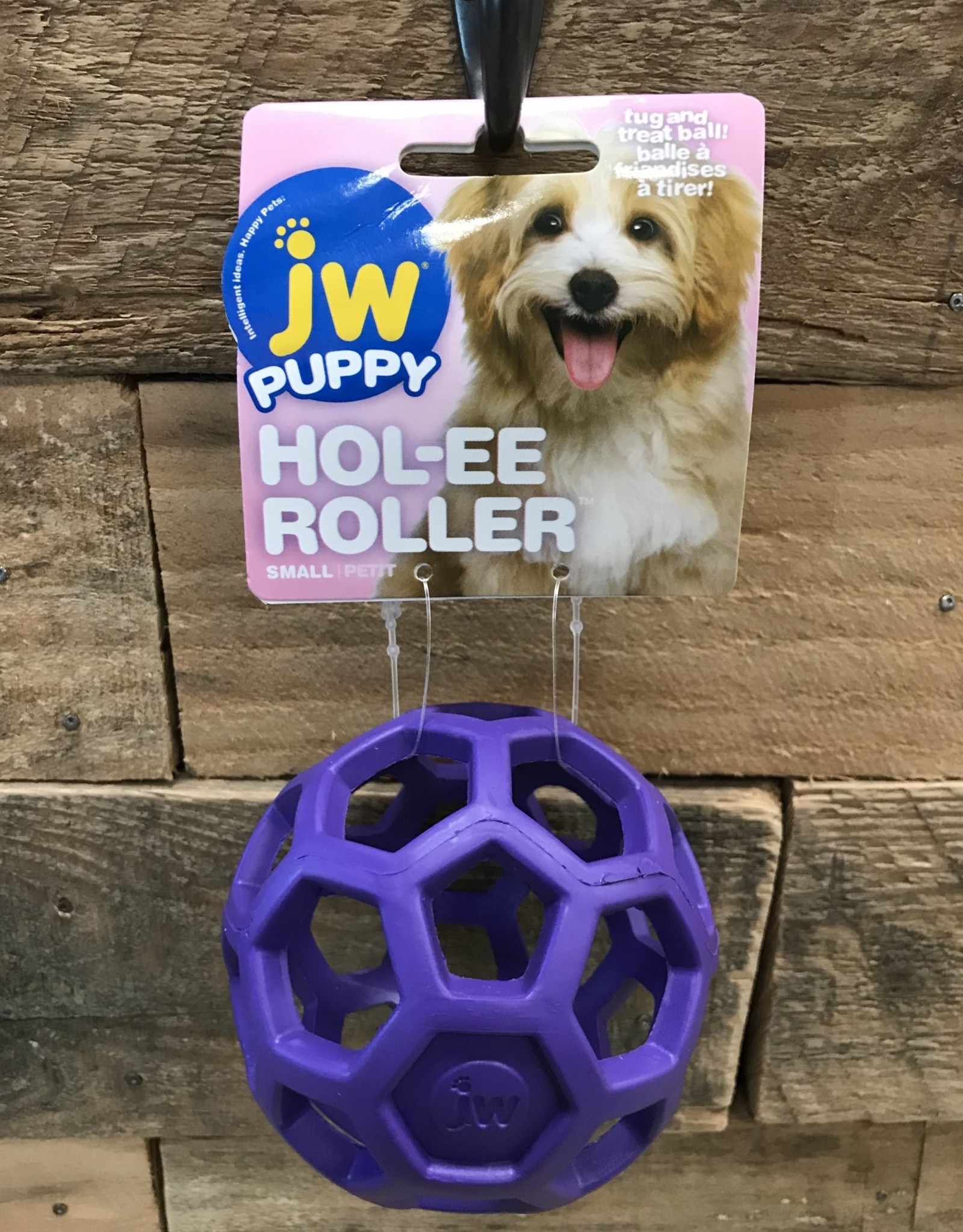 JW JW Puppy Hol-ee Roller Small Assorted