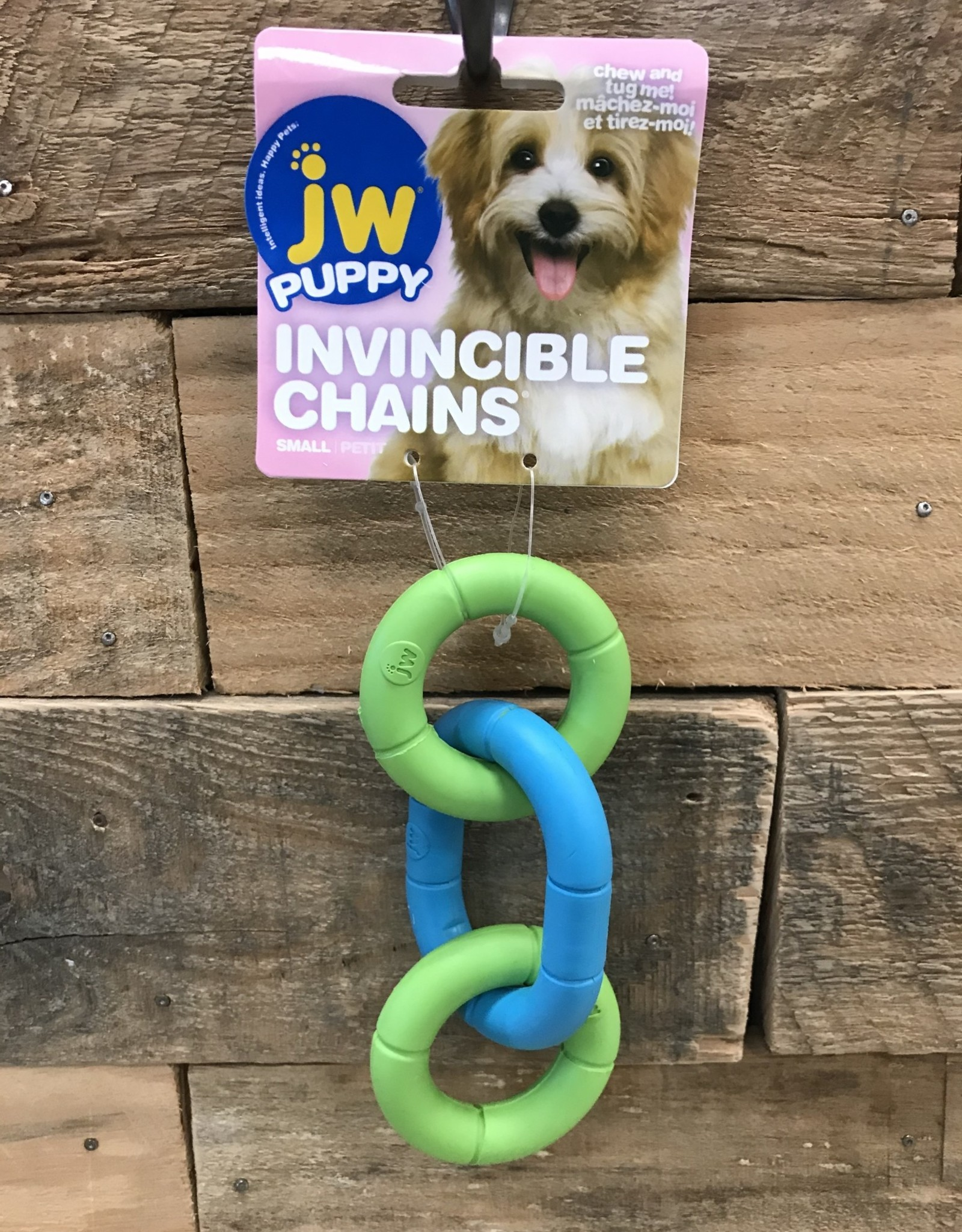 JW JW Puppy Invincible Chains Small Assorted