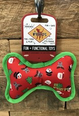 Xms The Worthy Dog Red Bone Small Dog toy