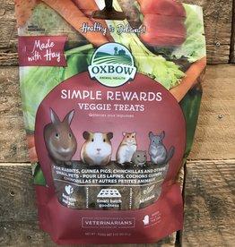 OXBOW ANIMAL HEALTH Oxbow Treats SIMPLE REWARDS-VEGGIE