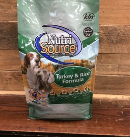 Nutrisource Nutrisource Turkey & Rice -3 sizes