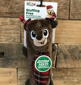 Xms Outward Hound Stuffing Free Reindeer