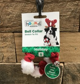 XMS Outward Hound  Holiday BELL Collar RED small