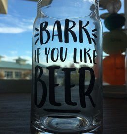 Pearhead Pearhead Pet Lover's Dog Beer Glass (Bark if you like beer)