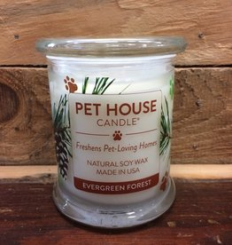One Fur All One Fur All Candle Glass Jar EVERGREEN FOREST 8.5oz
