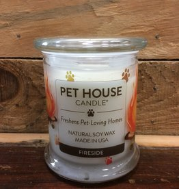 One Fur All One Fur All Candle Glass Jar FIRESIDE 8.5oz