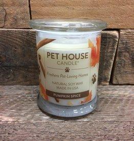 One Fur All One Fur All Candle Glass Jar PUMPKIN SPICE 8.5 OZ