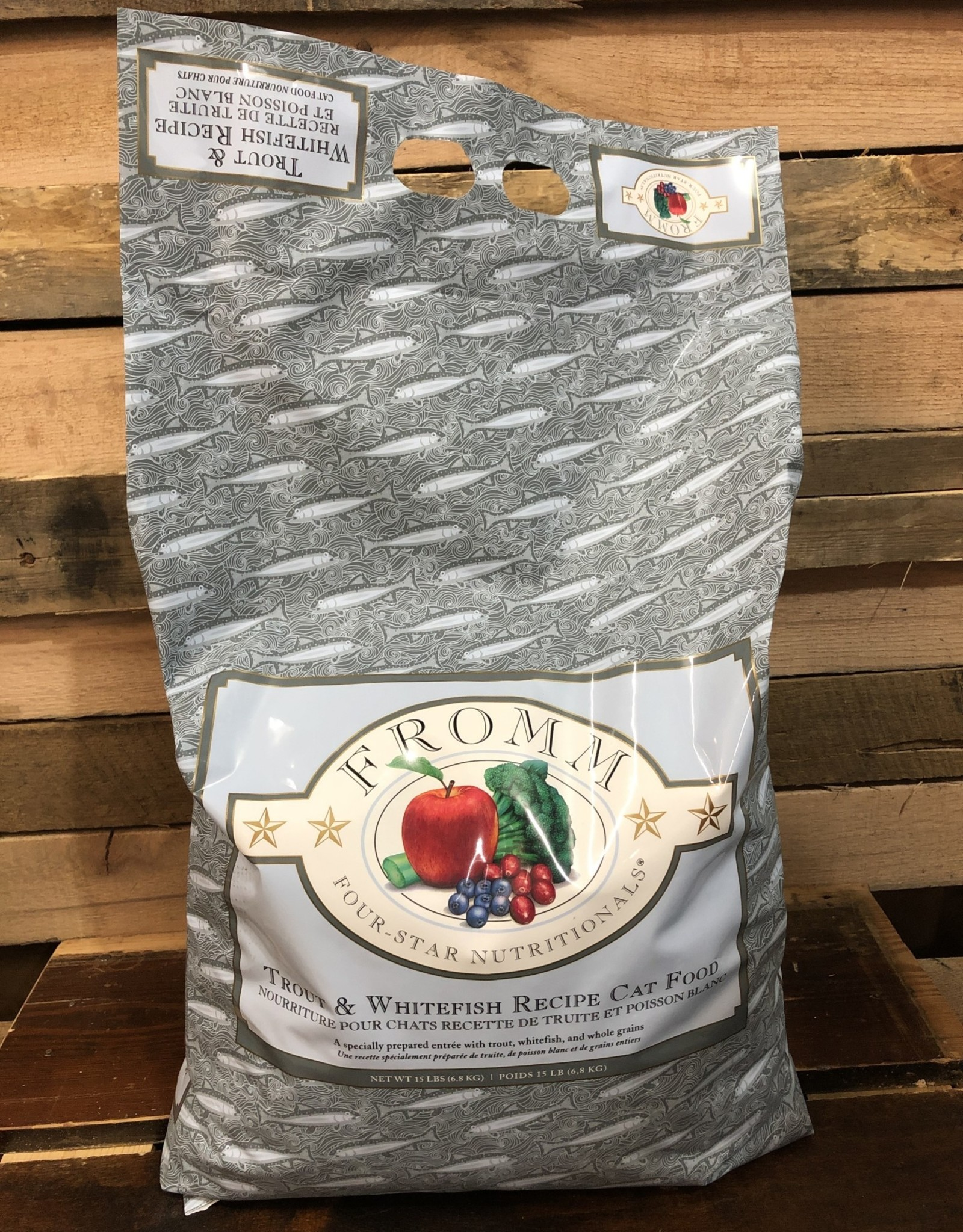 Fromm Family Foods Fromm 4star Trout & Whitefish Receipe cat 15#