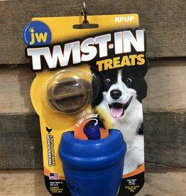 JW DOG TOY TWIST-IN TREATS