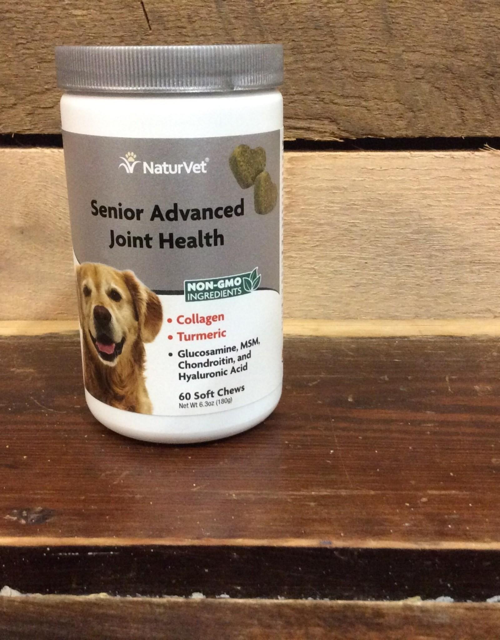 NaturVet Senior Advanced Joint Health 60ct.