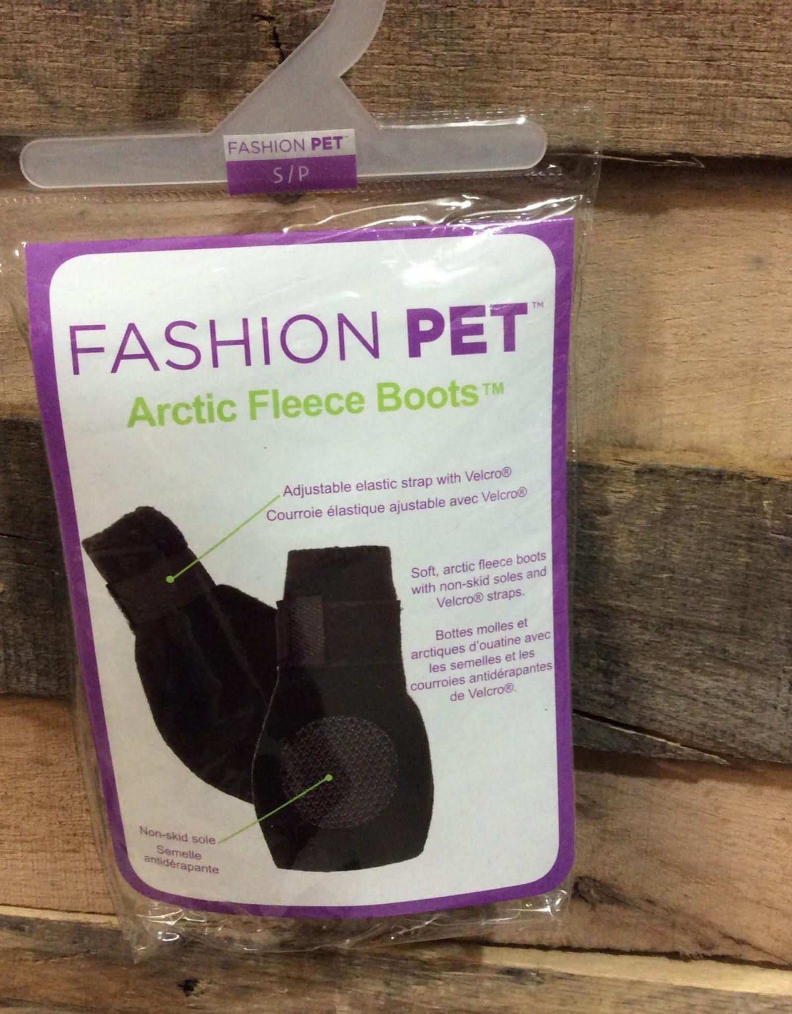 Fashion Pet Arctic Fleece Boots Sm