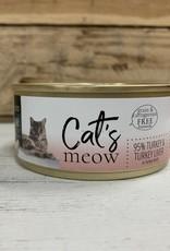 Daves Pet Food Daves Cats Meow 95% Turkey/liver cat 5.5oz