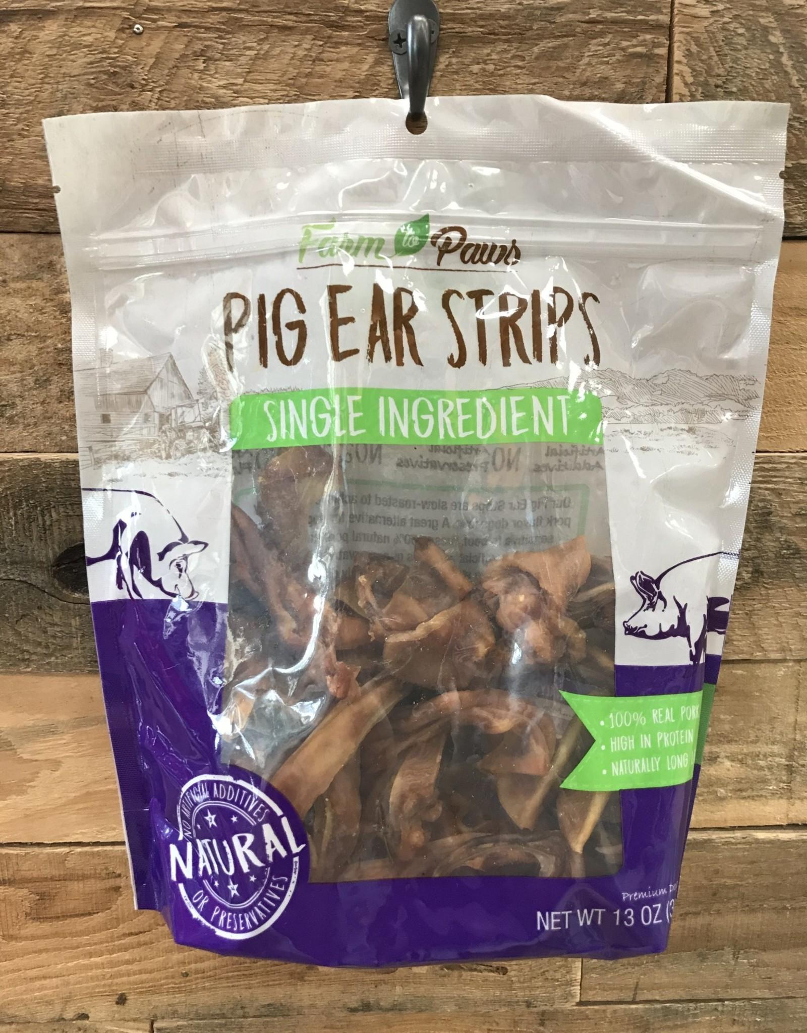 FARM TO PAWS Farm to Paws Pig Ear Strips 13oz