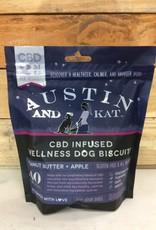 Austin & Kat AUSTIN AND KAT DOG CBD BISCUITS SMALL BREED 2MG 8.9OZ
